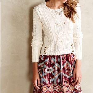 Anthro | Lilka Duxbury Sweater Layered Dress Sz S